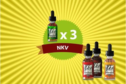 3 liquides NKV