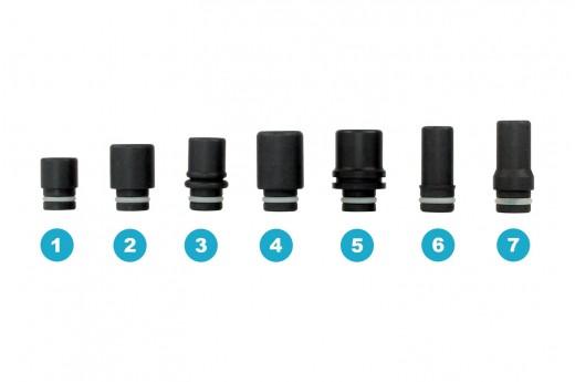 Drip Tip 510 Téflon Noir