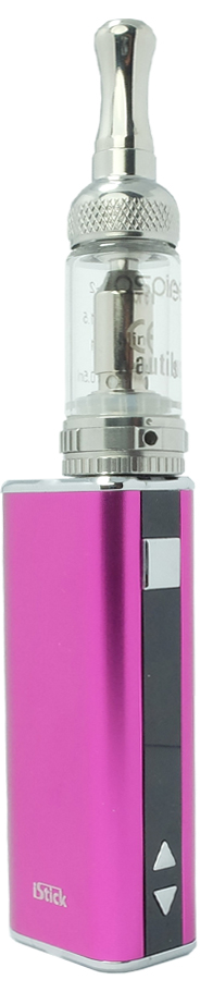 clearomizer Mini Nautilus met Istick Eleaf