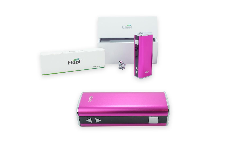 Elektronische sigaret Istick 20W, thuislader, USB Lader