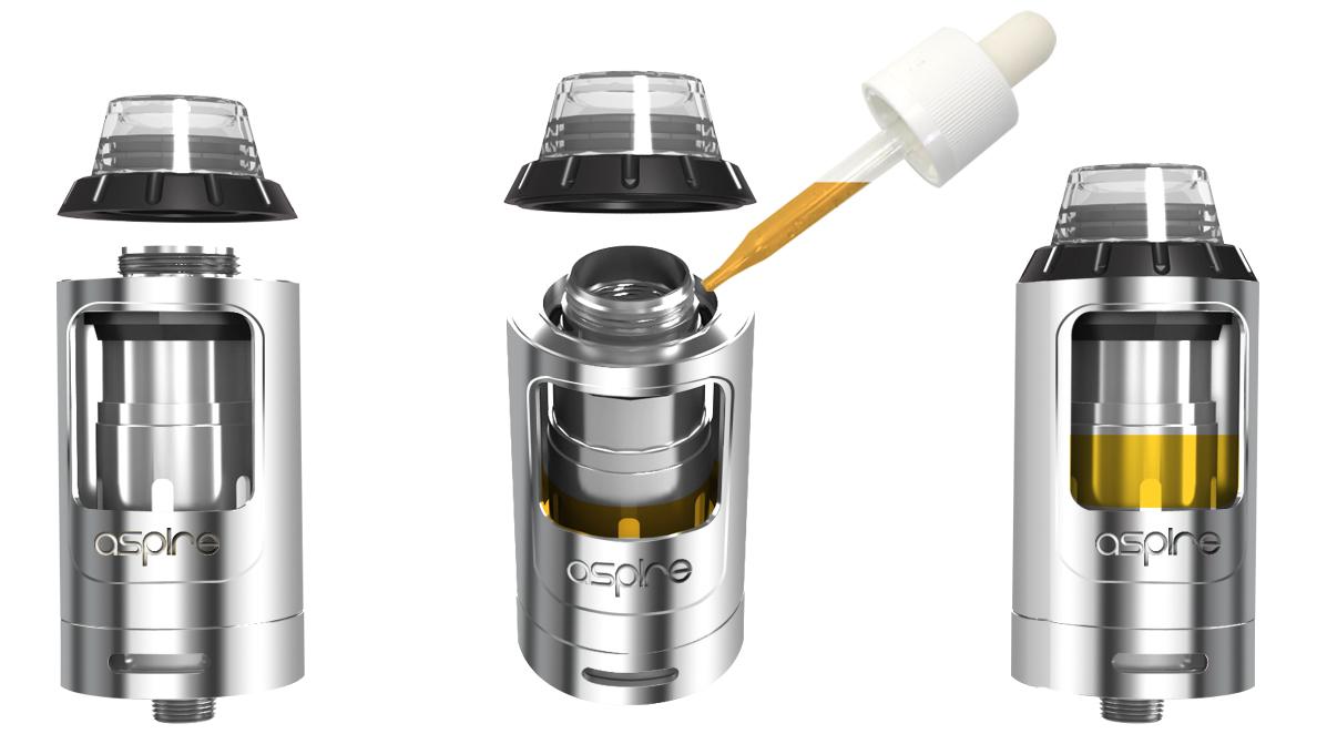 Athos 2 ml Clearomizer Vulstoffen