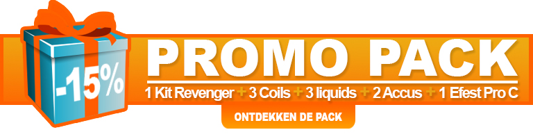 Promotie voor de e-sigaret Revenger Vaporesso