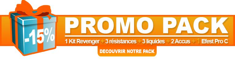 Promotion sur le pack Revenger Vaporesso