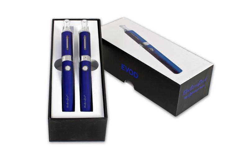 Pack de cigarette électroniques blues