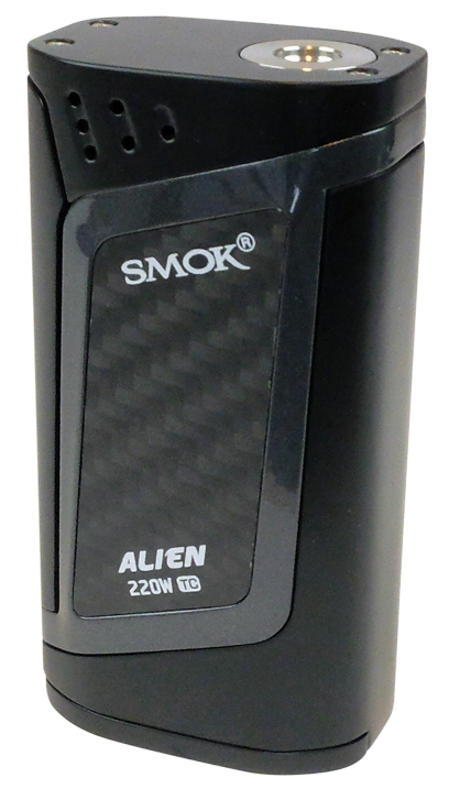 Box Akien 220W noire debout sans clearo
