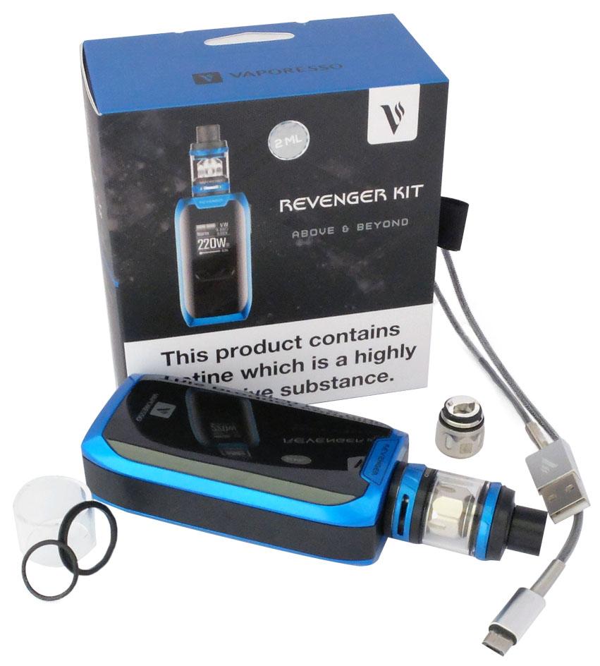Vaporesso,Revenger Kit,GtCore,e-cigarètte, résistance, cable usb, join de rechange,pyrex de rechange