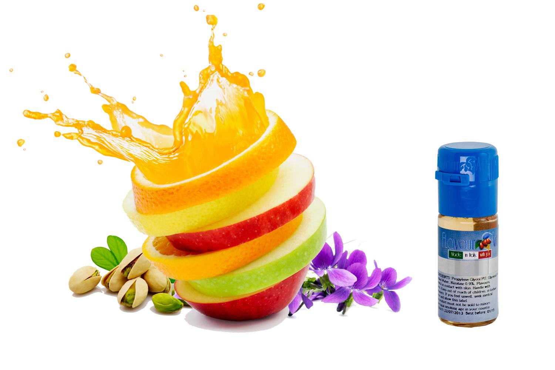 E-liquides saveurs fruits et plantes
