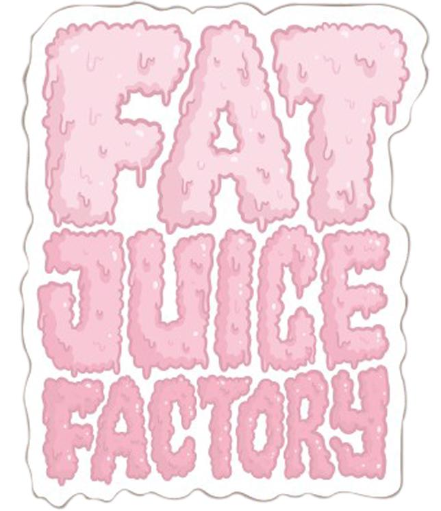 Fat Juice Fabriekslogo van het PULP-merkassortiment Fat Juice Fabriek
