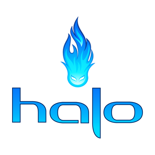 Logo e-liquides Halo