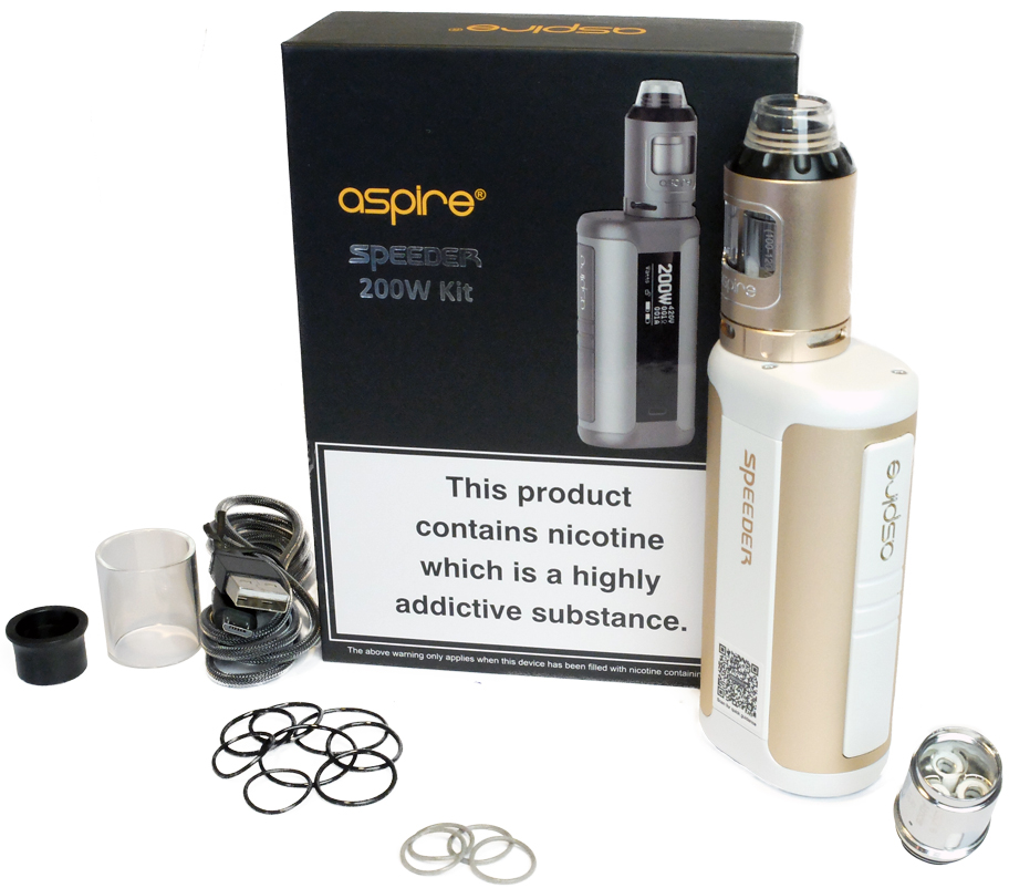 Contenu du kit Speeder Aspire