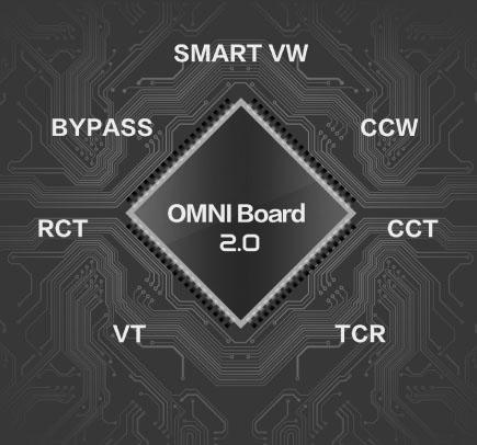Modes de réglage,Revenger kit,Vaporesso,Omni-board 2.0
