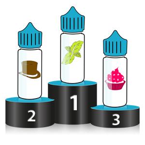 podium des meilleurs e-liquides