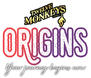 Logo gamme Origins de Twelve Monkeys