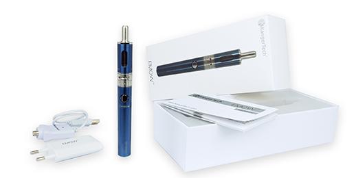 Cigarette eMow avec accessoires