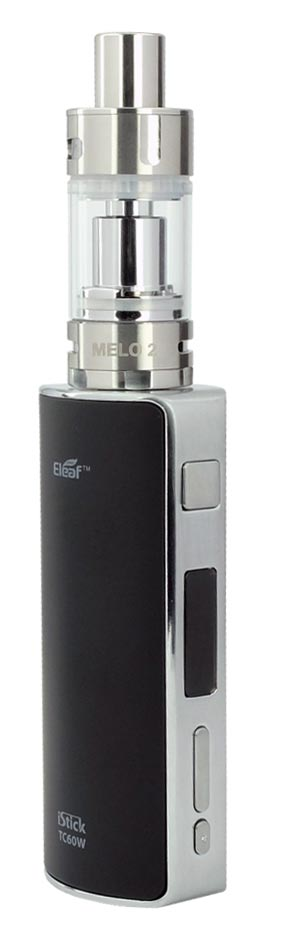 Batterij Istick 60W TC + clearomizer Melo 2