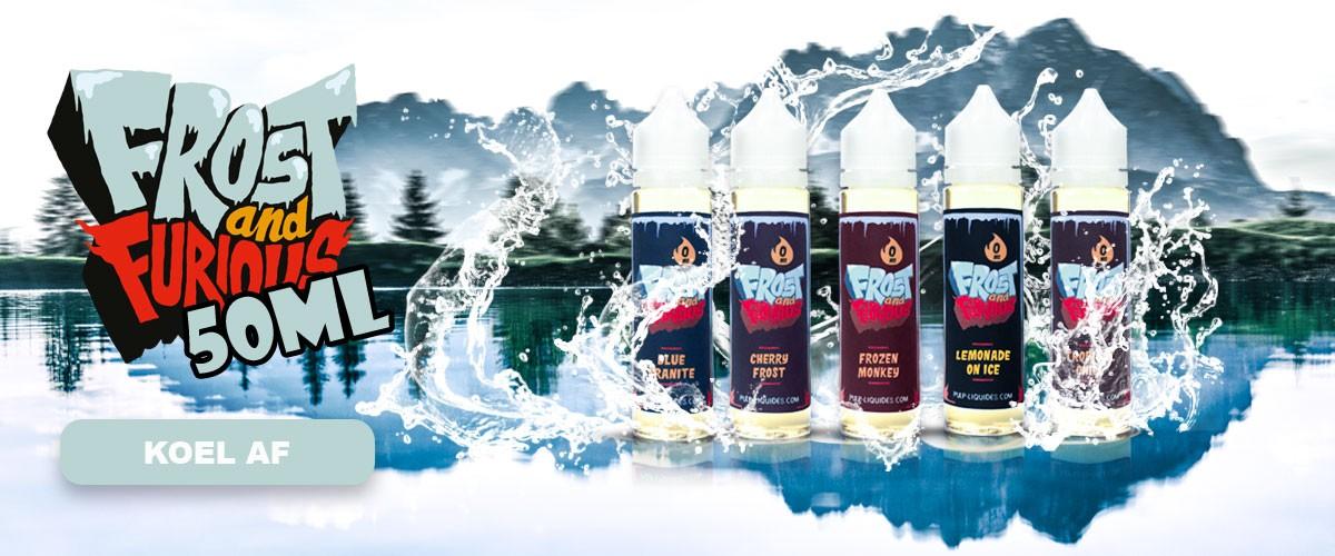 E-liquids Frost And Furious 50 ml